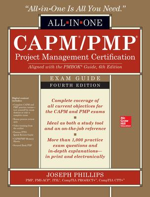 CAPM/PMP Project Management Certification All-In-One Exam Guide, 4th Edition - open in a new window