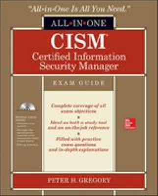 book cover: CISM Certified Information Security Manager All-In-One Exam Guide