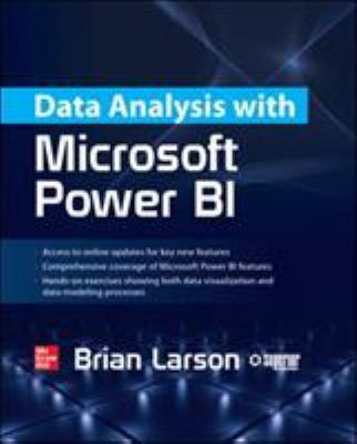 book cover: Data Analysis with Microsoft Power BI