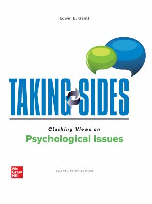 Taking Sides: Clashing Views on Psychological Issues