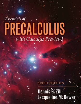 book cover:Student Resource Manual to Accompany Essentials of Precalculus with Calculus Previews