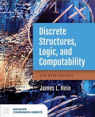 book cover:Discrete Structures, Logic, and Computability