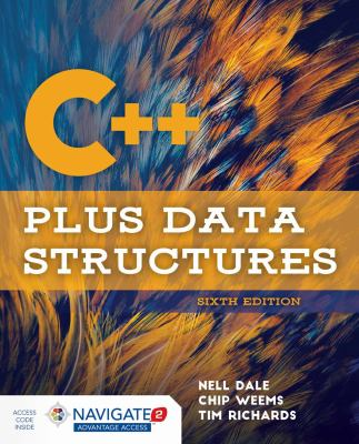 book cover: C++ Plus Data Structures