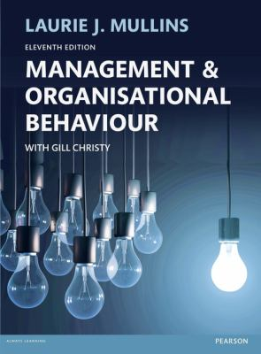 Management and Organisational Behaviour Cover
