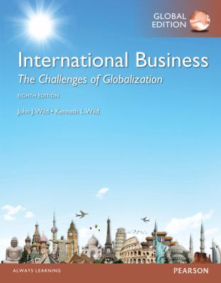 International business : the challenges of globalization Cover