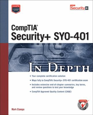 CompTIA Security+ SY0-401 in Depth Cover Art