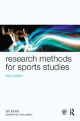 Cover of book Research Methods for Sports Studies. Link to entry in library catalogue