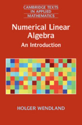 book cover: Numerical Linear Algebra: an introduction