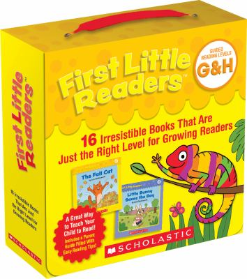 First little readers, guided reading levels G & H - parent pack : 16 irresistible books that are just the right level for growing readers