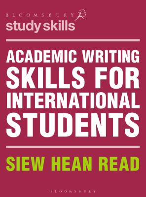 Academic Writing Skills for International Students - Opens in a new window