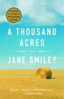 Book cover for A Thousand Acres by Jane Smiley
