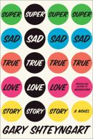 Book cover for Super Sad True Love Story
