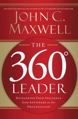 The 360° leader book cover