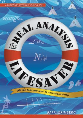 book cover: The Real Analysis Lifesaver