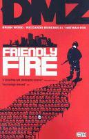 DMZ Friendly Fire book cover