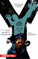 Book cover for the graphic novel Y, the Last Man