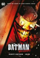 Batman who laughs book cover