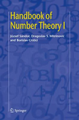 book covers: Handbook of Number Theory I