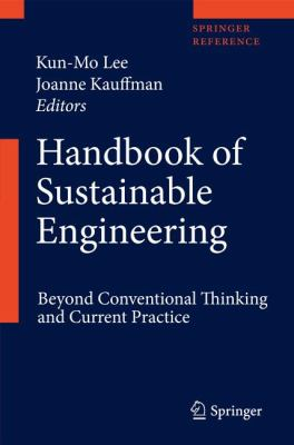 Book Cover: Handbook of Sustainable Engineering