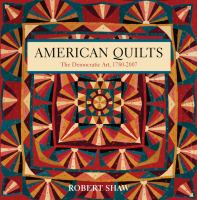 Book cover for American Quilts by Robert Shaw