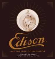 Book cove for Edison and the Rise of Innovation