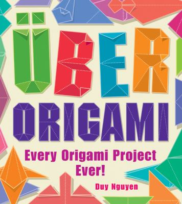 Book cover for Uber origami.