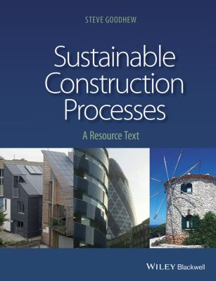 book cover: Sustainable Construction Processes