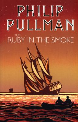 Book cover: The ruby in the smoke