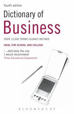 Book jacket for Dictionary of Business