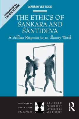 Todd Ethics of Sankara and Santideva cover art