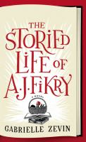 Book cover for The Storied Life of A. J. Fikry
