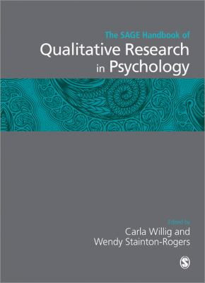 The SAGE handbook of qualitative research in psychology by Carla Willig and Wendy Stainton-Rogers.