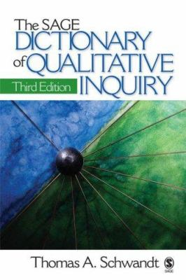 Book jacket for The SAGE Dictionary of Qualitative Inquiry