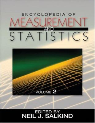 Book jacket Encyclopedia of Measurement and Statistics