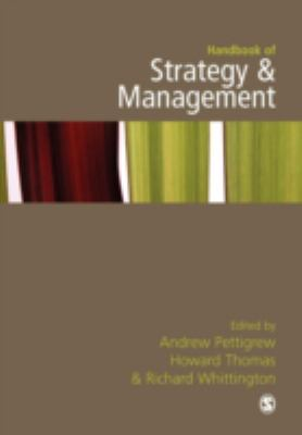 Book jacket for Handbook of Strategy and Management