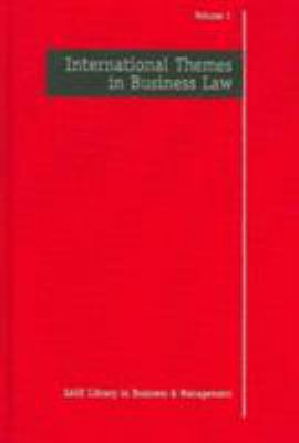 Book jacket for International Themes in Business Law