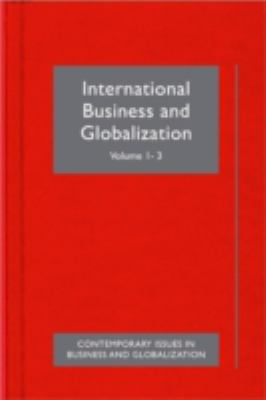 Book jacket for International Business and Globalization