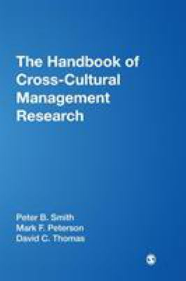 Book jacket for The Handbook of Cross-Cultural Management Research
