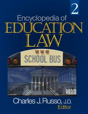 Book jacket for Encyclopedia of Education Law