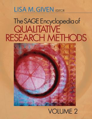 cover of The SAGE Encyclopedia of Qualitative Research Methods