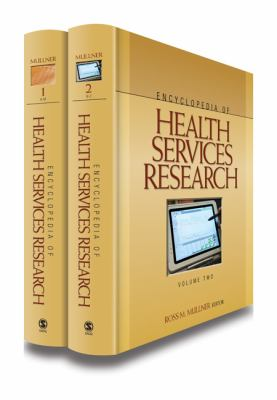 Book jacket for Encyclopedia of Health Services Research