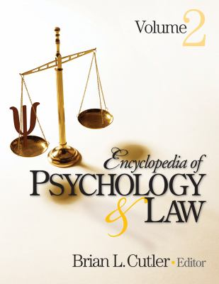 Encyclopedia of Psychology and Law Cover Art