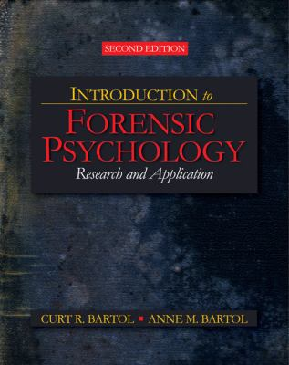 Introduction to Forensic Psychology Cover Art