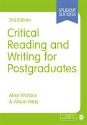 book cover of Critical Reading and Writing for Postgraduates