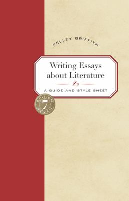 writing essays about literature book cover