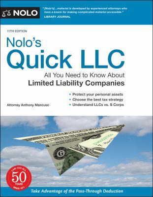 Nolo's quick LLC.