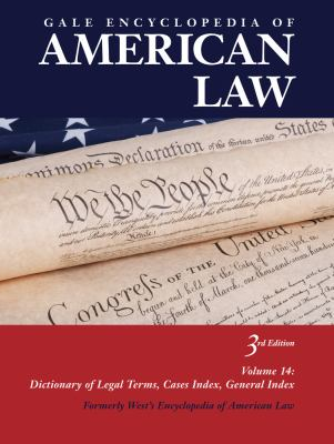 Gale Encyclopedia of American Law book cover