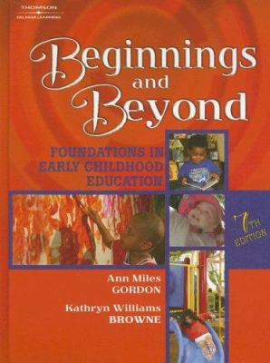 Book cover art for Beginnings and Beyond