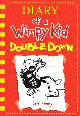 """Diary of a Wimpy Kid: Double Down"" book cover"