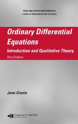 book cover - Ordinary Differential Equations: introduction and qualitative theory